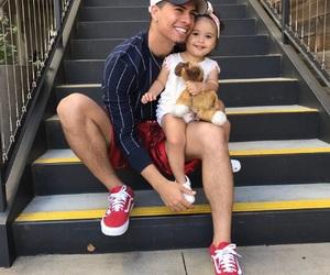 austin mcbroom, ace, and baby image