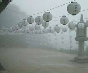 china, fog, and indie image