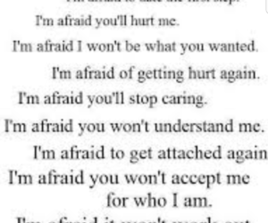 afraid and quotes image