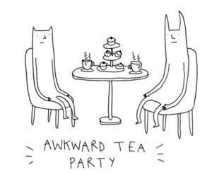 tea, drawing, and grunge image