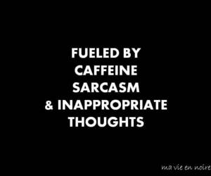 quotes, coffee, and sarcasm image