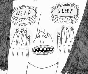 sleep, need, and art image