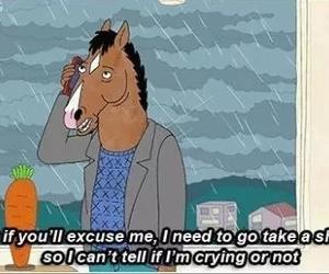 horse, sad, and tv show image