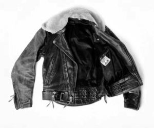 jacket, leather, and vintage image
