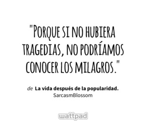 frases, quote, and milagros image