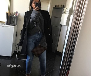 clothes, tenue, and Louis Vuitton image