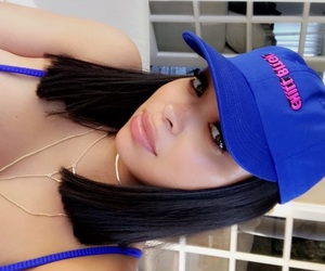 baseball cap, fashion, and sew in image