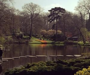amsterdam, lake, and keukenhof image