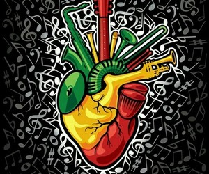 reggae, music, and love image
