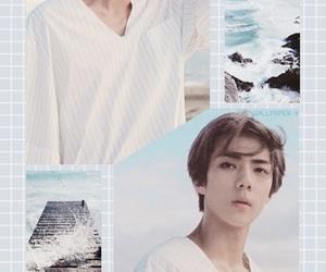 exo, wallpaper, and sehun image