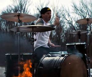 drums, twenty one pilots, and josh dun image