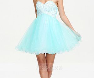 prom dress, homecoming dress, and short dress image