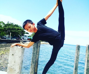 dancer, fitness, and flexibility image
