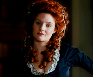 amazing grace, hair, and red hair image