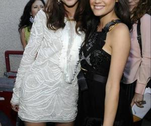 lucy hale, leighton meester, and girl image