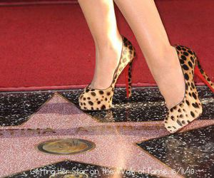 leopard, louboutin, and shoes image