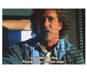 dog, movie, and mel gibson image