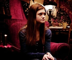 ginny weasley, bonnie wright, and harry potter image