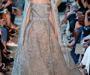 dress, beautiful, and elie saab image