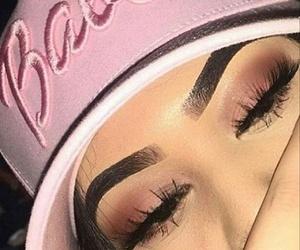 bad girl, cap, and eyeshadow image