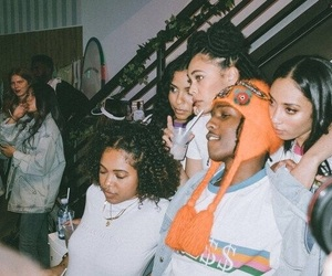a$ap rocky and girls squad image