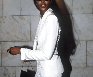 Naomi Campbell, fashion, and 90s image