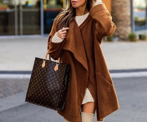 autumn, beige, and Louis Vuitton image