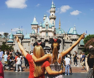 best friends, california, and castle image
