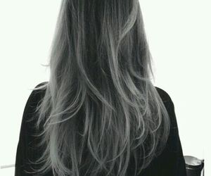 girl, hair, and fumikokawa image