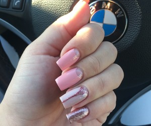 bmw, nails, and gelnails image