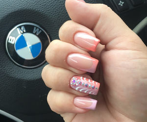 bmw, french, and nails image