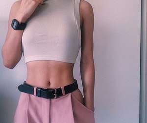 accessories, outfit, and pants image