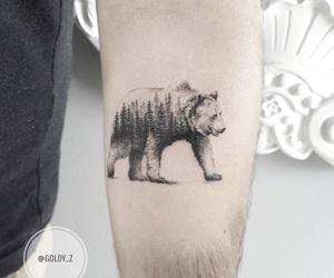 art, artist, and bear image