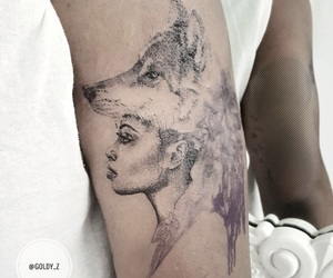 art, artist, and ink image