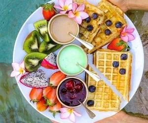 berries, breakfast, and food image