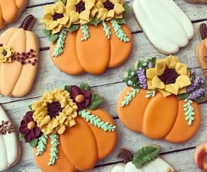 autumn, baking, and Cookies image