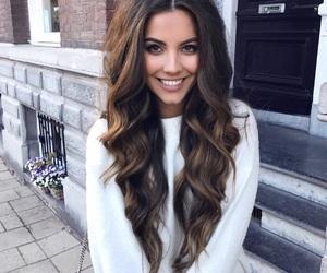 brownhair, fancy, and hair image