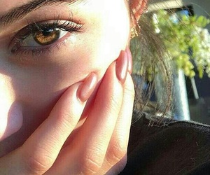 eyes, kylie jenner, and nails image