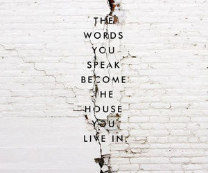 quotes, words, and house image