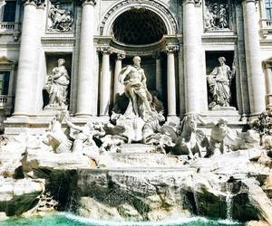 beautiful, travel, and trevi image