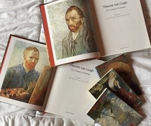 art, books, and van gogh image