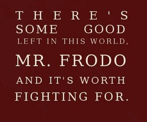 LOTR, frodo, and quotes image