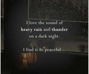 rain and words image