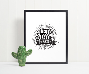 art prints, black & white, and typography image