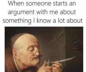 argument, meme, and proves image