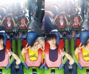 minhyuk, kihyun, and hyungwon image