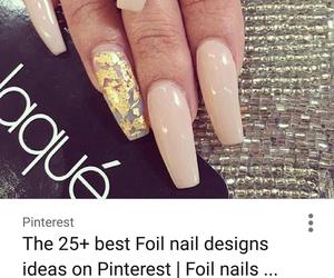 beige, elegant, and foil image