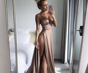 dress, goals, and hair image