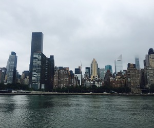 cloud, day, and new york image