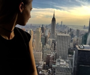 nyc, niceview, and nycbabes image